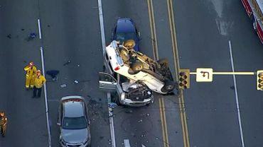 USA: ils volent une voiture et 15 secondes après c'est l'accident