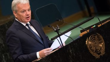 Didier Reynders dénonce la réduction de l'espace laissé aux journalistes