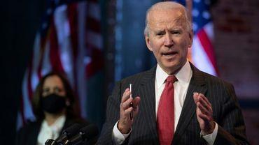 Joe Biden à Wilmington (Delaware) le 19 novembre 2020