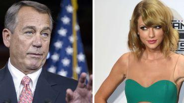 John Boehner et Taylor Swift