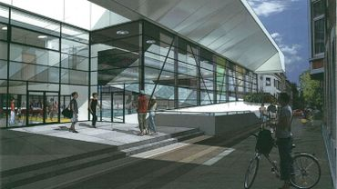 le futur centre aquatique Jonfosse
