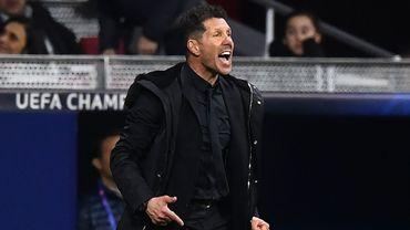 Simeone (Atlético) demande pardon pour un geste obscène contre la Juve