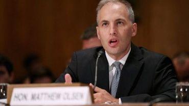Le directeur du Centre de lutte antiterroriste Matthew Olsen s'exprime devant le Sénat américain, le 19 septembre 2012 à Washington