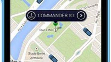 Via l'appli de United Airlines, les voyageurs peuvent commander rapidement un chauffeur Uber.