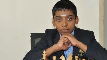 A 12 ans, Rameshbabu Praggnanandhaa est devenu ce week-end le deuxième plus jeune grand maître international du jeu d'échec.