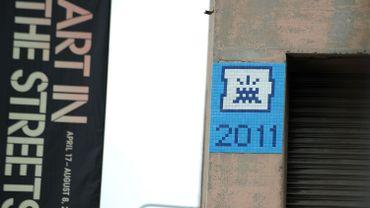 Depuis 1998 qu'il officie, Space Invader a déjà posé près de 3.200 mosaïques dans le monde