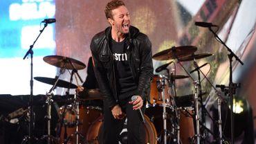 Le chanteur de Coldplay, Chris Martin