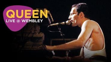 Le concert de Queen à Wembley en 1986