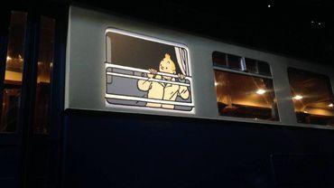Pour la toute première exposition temporaire du Train World, les organisateurs ont choisi    Hergé.