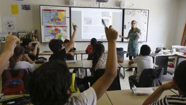 En moyenne, 6 % des cours ne sont pas donnés pour cause d'absence de titulaire en Belgique francophone.