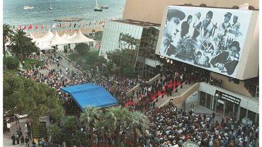 Le palais des festival il y a quelques années
