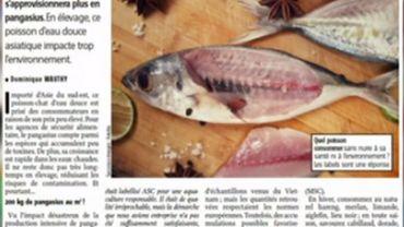 Le pangasius sort des rayons de certains supermarchés, c'est dans la revue de presse...