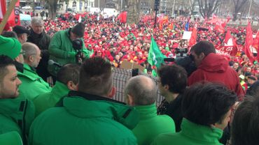 Rassemblement à Liège.