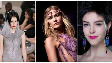 Le défilé haute couture Chanel, Giorgio Armani Privé et le top model Karlie Kloss, en Donatella Versace.