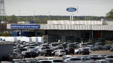 La production à nouveau à l'arrêt chez Ford Genk