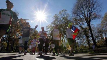 Des marathoniens ont couru malgré Sandy