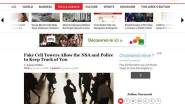 De fausses antennes GSM espionnent les citoyens américains