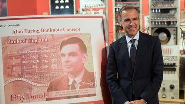 Le mathématicien anglais Alan Turing a été choisi pour illustrer le verso des futurs billets de 50 livres