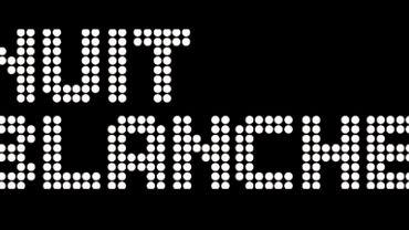 La 13e Nuit Blanche aura lieu le samedi 3 octobre, de 19h à 5h