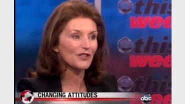 Cecilia Attias lors de l'émission sur les femmes, la politique et le pouvoir d'ABC