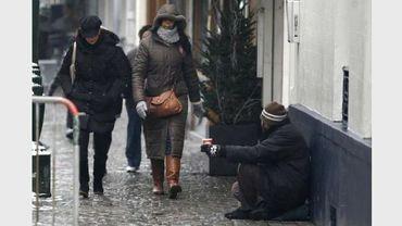 Les jeunes SDF sont particulièrement nombreux dans nos rues. (illustration)