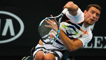 Joachim Gérard débute par une victoire au Masters de tennis en chaise