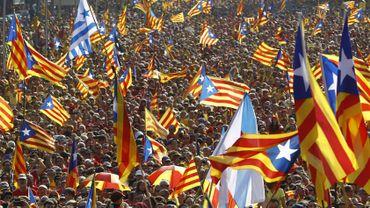 Ils étaient plusieurs centaines de milliers à manifester ce jeudi à Barcelone.