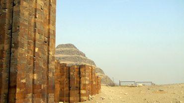 Illustration - Le site de Saqqara a été le théâtre de découvertes extraordinaires par l'équipe de Sarah Parcak