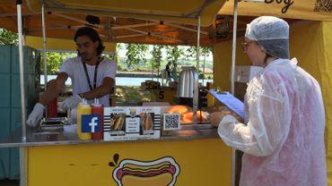 Tous les food-trucks du festival sont contrôlés, avec une attention particulière pour les denrées potentiellement à risque.