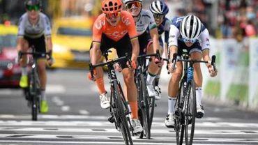 Marianne Vos prive Lotte Kopecky d'une victoire d'étape au Giro Rosa