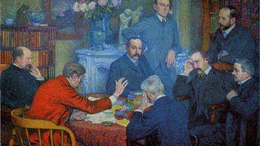 """""""Une lecture"""" de Théo van Rysselberghe (1903)"""