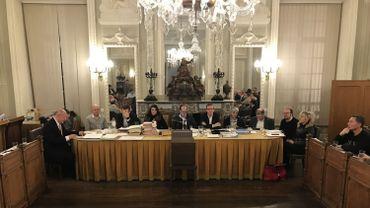 Le conseil communal de Verviers