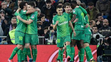 La Real Sociedad bat Mirandés 2-1 et prend une option sur la finale