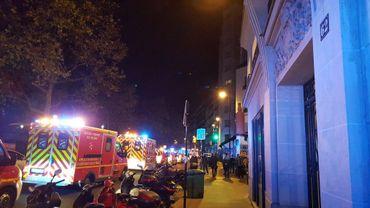 Une centaines de personnes sont mortes lors de la prise d'otage du Bataclan à Paris