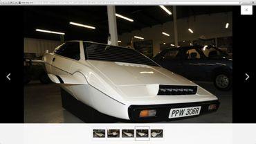 Capture d'écran de la page d'Ebay