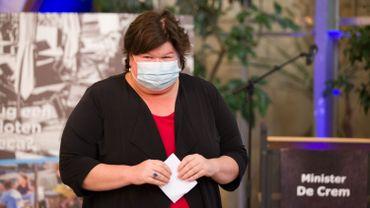 Coronavirus en Belgique: Maggie De Block ne souhaite pas reconfiner le pays