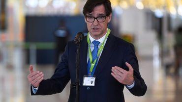 Salvador Illa, ministre de la santé espagnol sera candidat indépendantiste en Catalogne