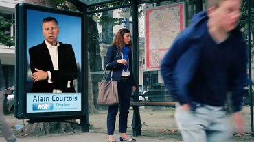 Le clip de campagne d'Alain Courtois