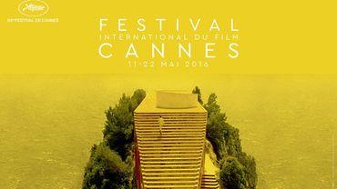 L'affiche du 69e Festival de Cannes 2016, conçue par Hervé Chigioni et Gilles Frappier