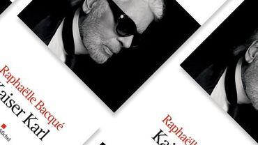 Une biographie de Karl Lagerfeld par Raphaëlle Bacqué
