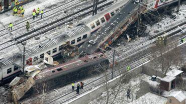 La catastrophe ferroviaire de Buizingen a eu lieu il y a quatre ans, le 15 février 2010