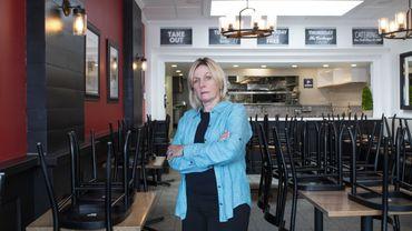 Madelyn Alfano, 62 ans, propriétaire de Maria's Italian Kitchen, une chaîne de restaurants de la région de Los Angeles.