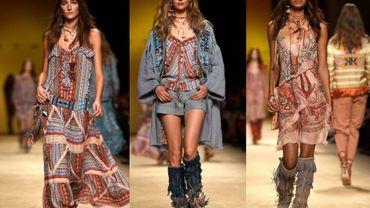 Fashion week de Milan : des franges chez Etro