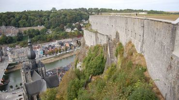 Vue sur Dinant depuis la Citadelle.