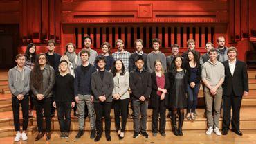 Les demi-finalistes du Concours Reine Elisabeth, session violoncelle