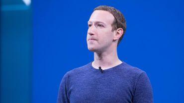 Mark Zuckerberg, le patron de Facebook, de nouveau dans la tourmente.