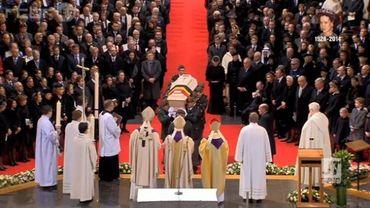Les funérailles de la reine Fabiola se déroulent ce vendredi