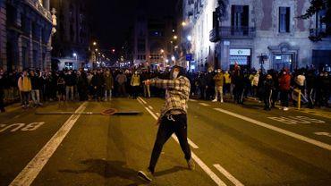 Espagne: 6e nuit de protestation après l'arrestation d'un rappeur