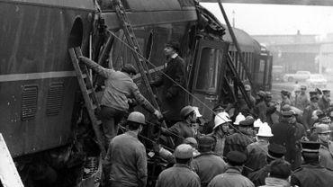 15 personnes étaient décédées le 25 mars 1969 dans l'enchevêtrement de ferraille des deux trains à La Louvière