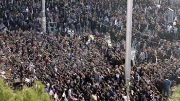 Illustration - manifestation en Irak le 23 février 2011